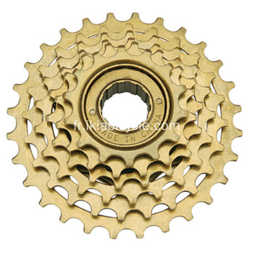 Pièces de bicyclette d'index de vitesse 6 Freewheel